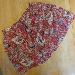 Heritage 1981 Paisley Silk Skirt